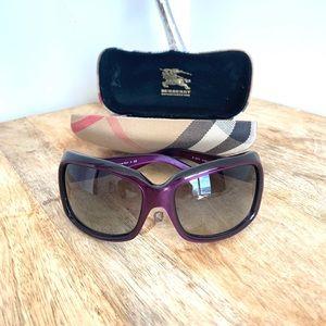 Purple Haters Blocker Burberry Sunglasses